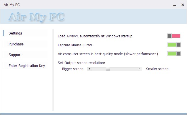 AirMyPC screenshot 0