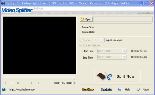 Boilsoft Video Splitter screenshot 0