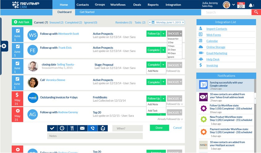 Revamp CRM screenshot 0
