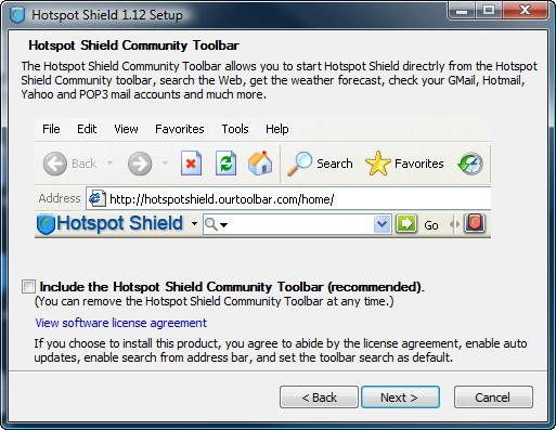 Hotspot Shield screenshot 0