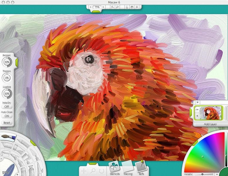 Artrage screenshot 0
