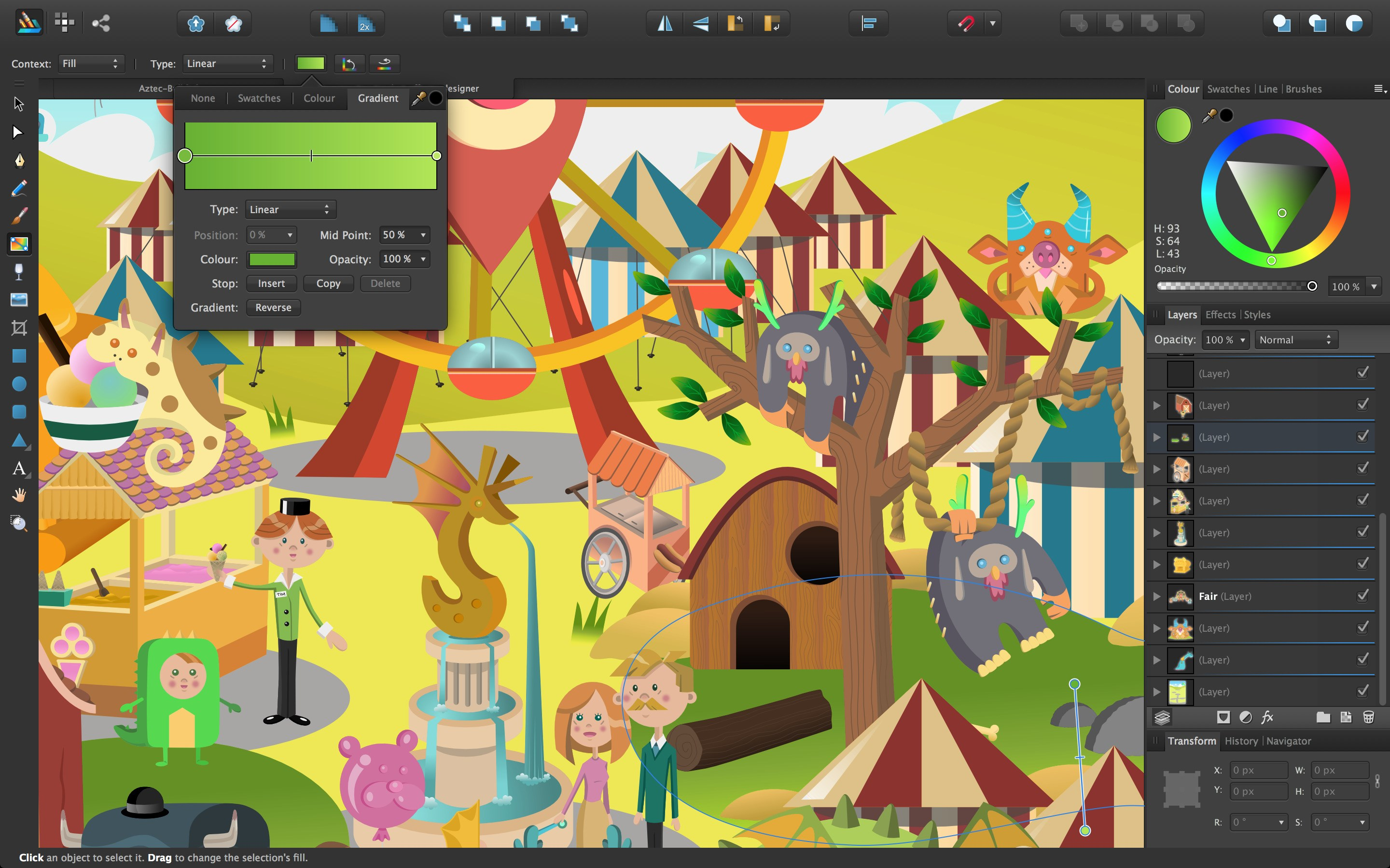 Affinity Designer screenshot 1