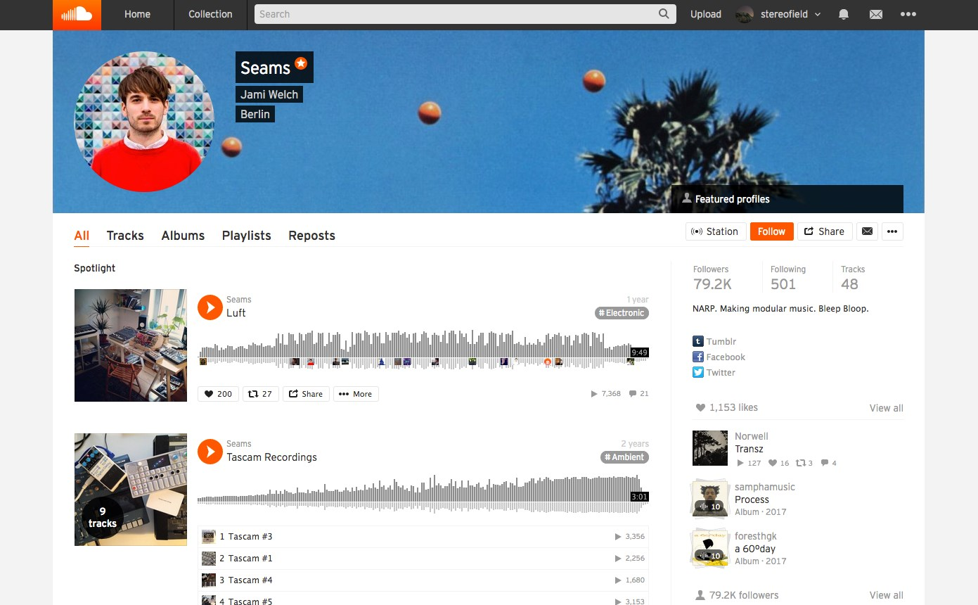 SoundCloud screenshot 2