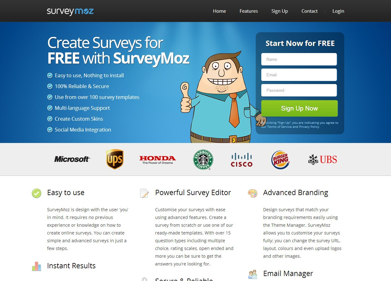 SurveyMoz screenshot 0