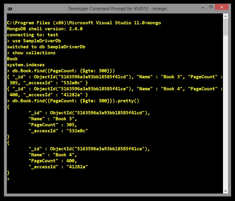 MongoDB screenshot 0