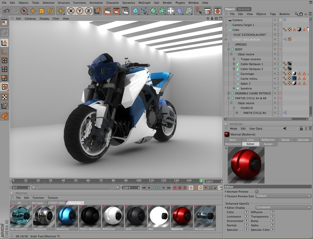 Cinema 4D screenshot 1