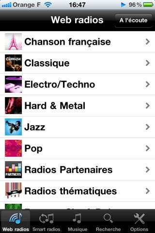 Deezer screenshot 1