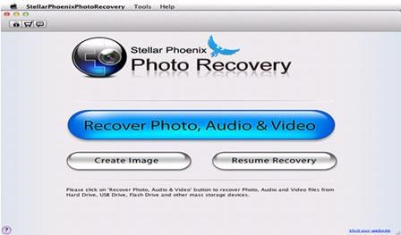 Stellar Phoenix Photo Recovery screenshot 1