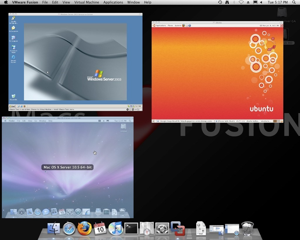VMware Fusion screenshot 0