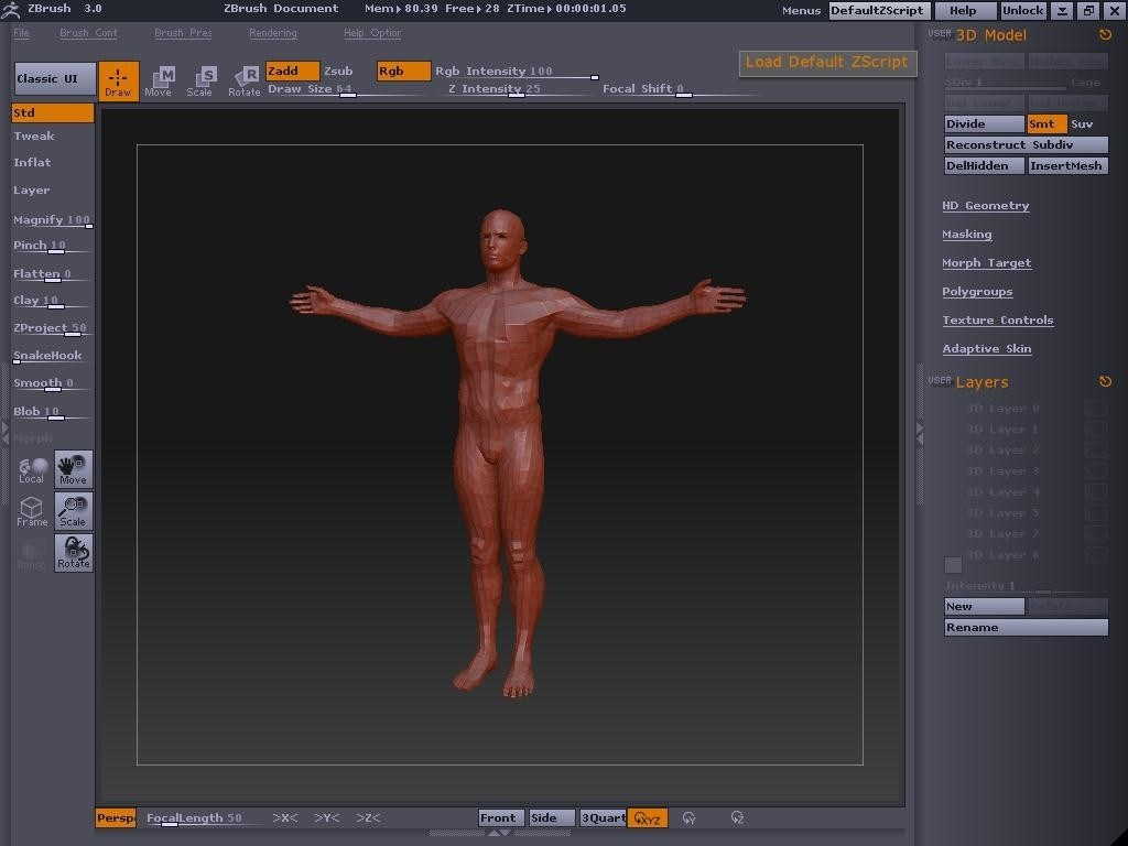 ZBrush screenshot 1