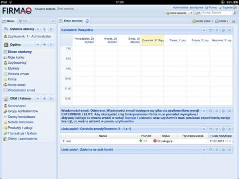 Firmao CRM screenshot 2