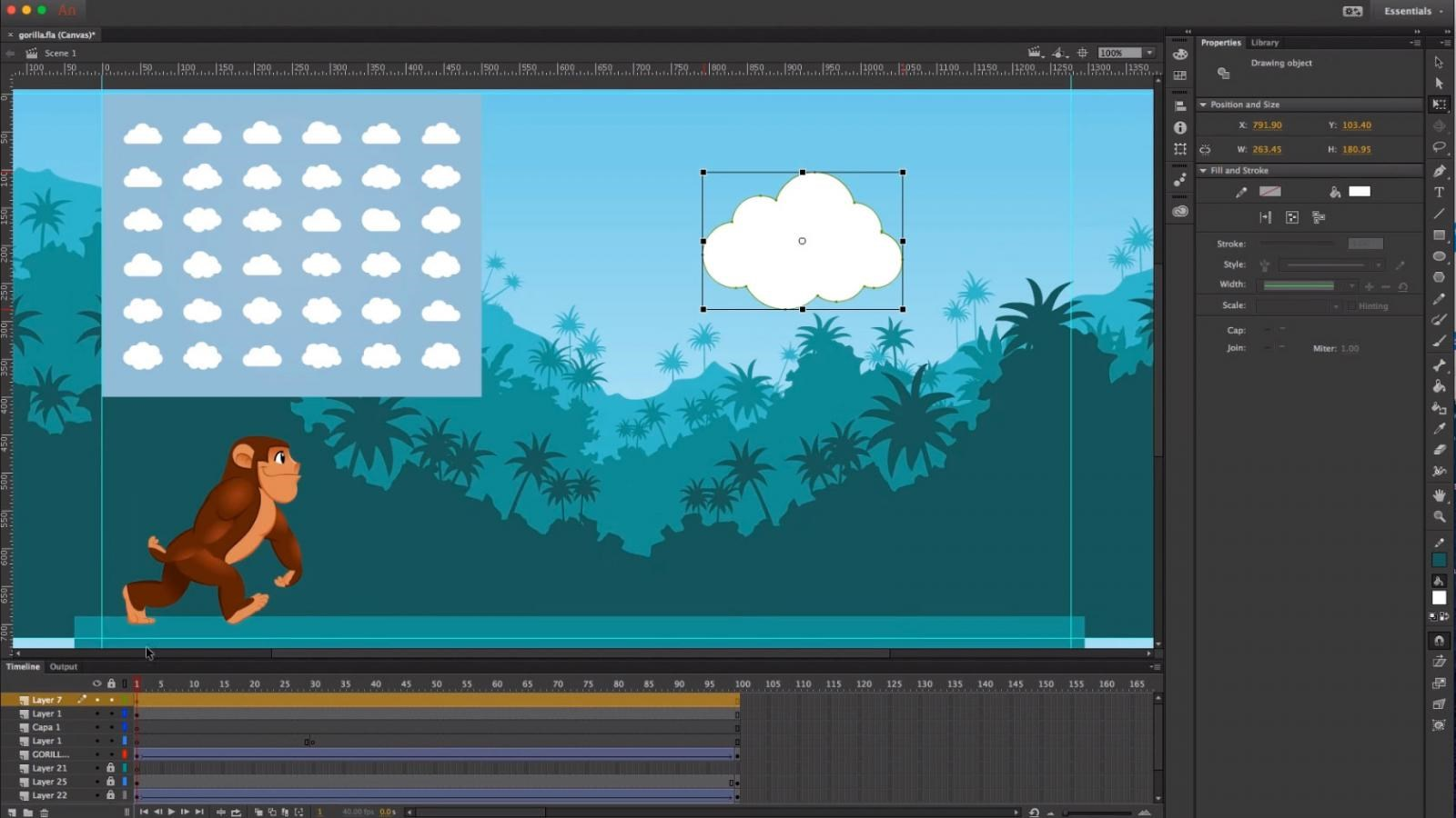 Adobe Animate CC screenshot 0