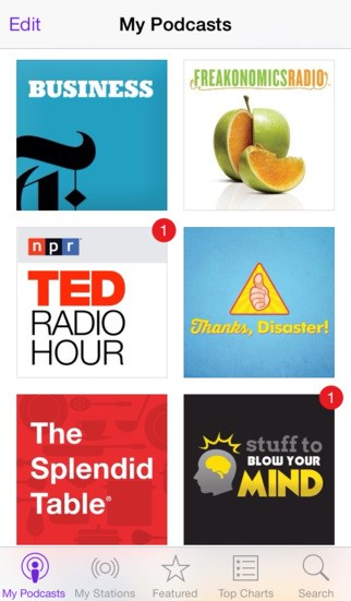 Apple Podcasts screenshot 0