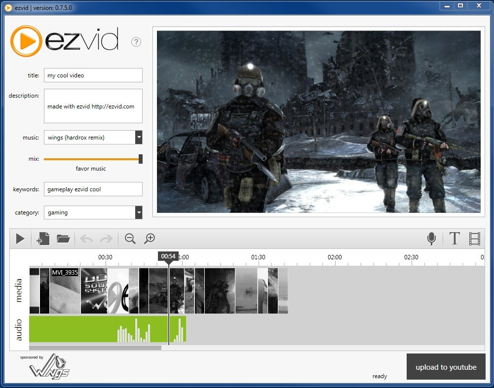 Ezvid screenshot 1