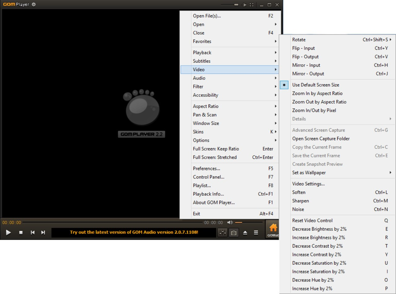 GOM Media Player screenshot 1