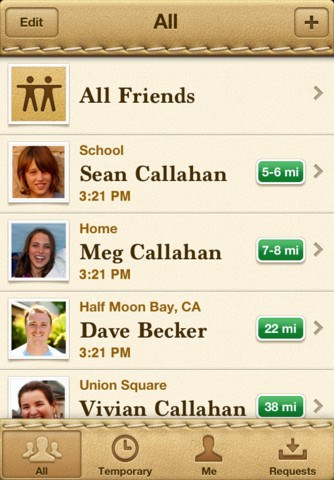 Find My Friends screenshot 0