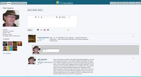 Friendica screenshot 0