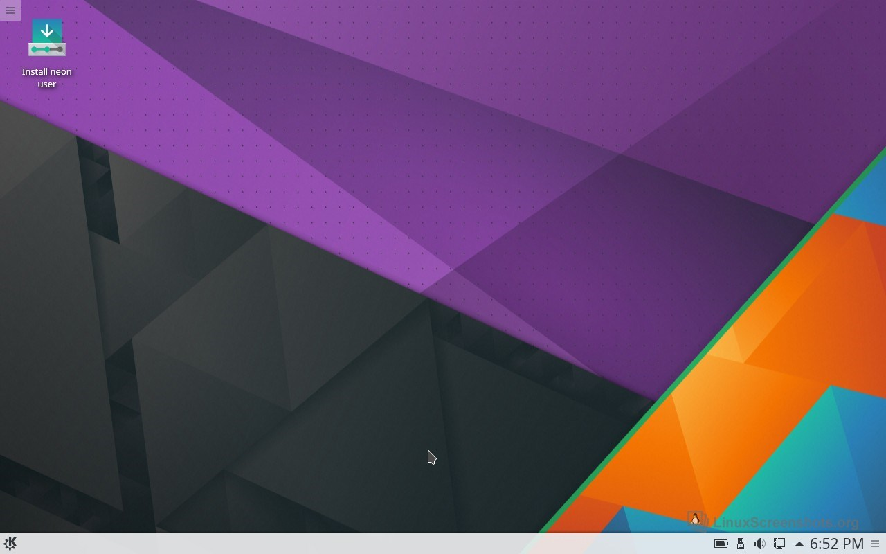KDE neon screenshot 0