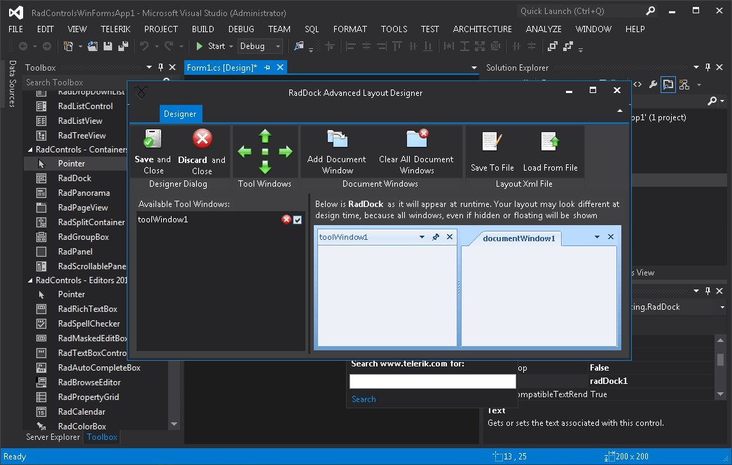 Microsoft Visual Studio screenshot 0