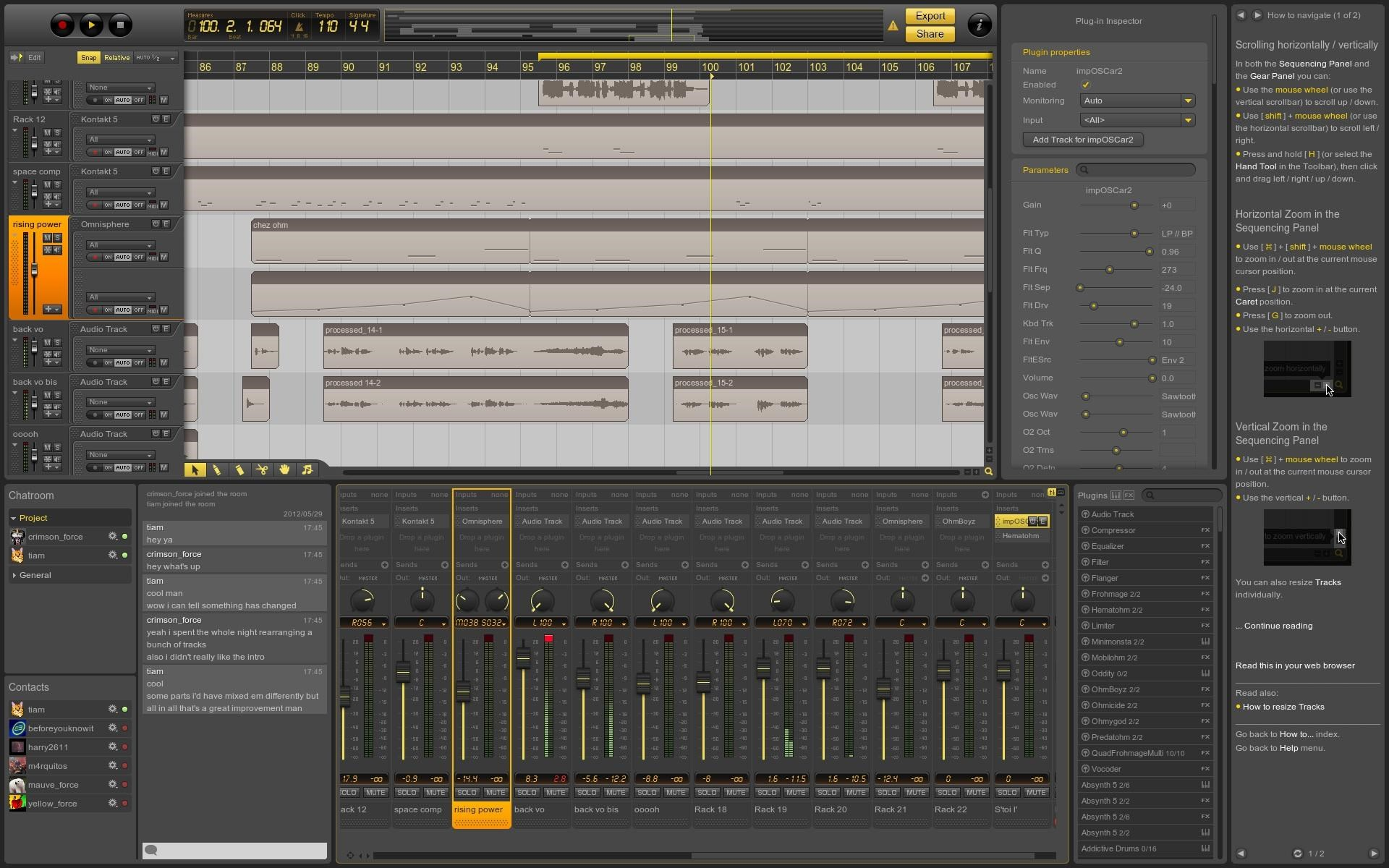 Ohm Studio screenshot 1