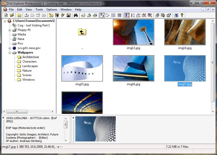 Disk Explorer Professional screenshot 0