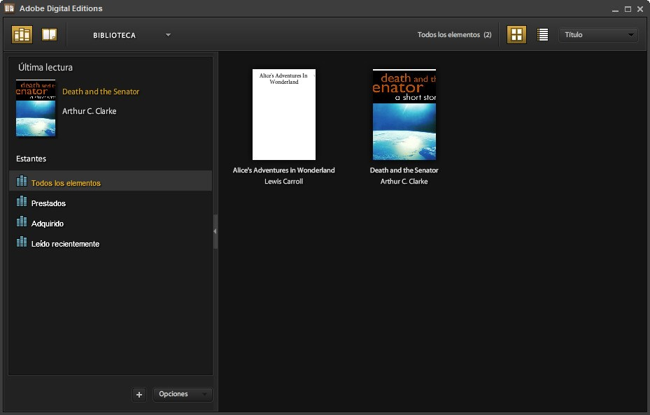 Adobe Digital Editions screenshot 0