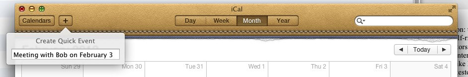 Apple Calendar screenshot 0