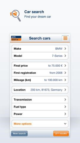 AutoScout24 screenshot 1