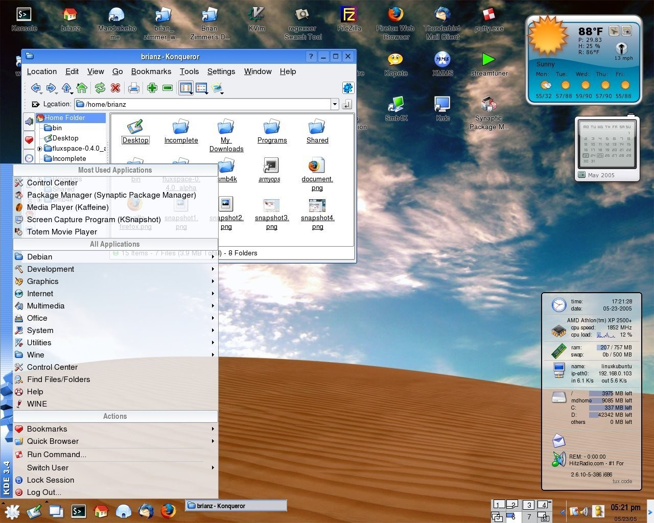 Kubuntu screenshot 2