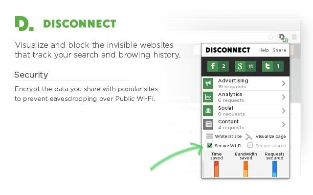 Disconnect screenshot 1