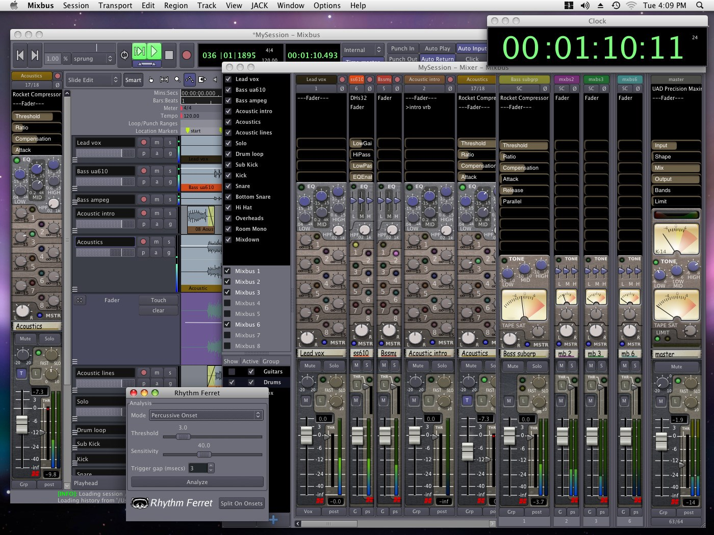 Harrison Mixbus screenshot 1
