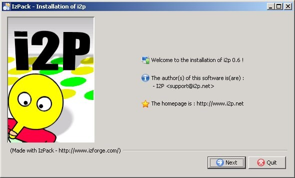 I2P screenshot 1