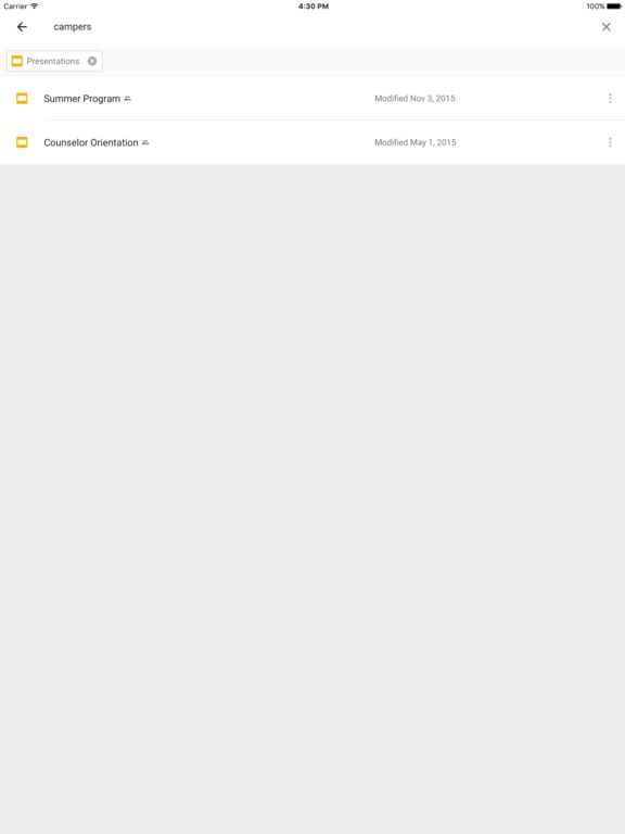 Google Drive screenshot 2
