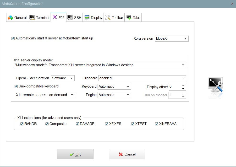 MobaXterm screenshot 2