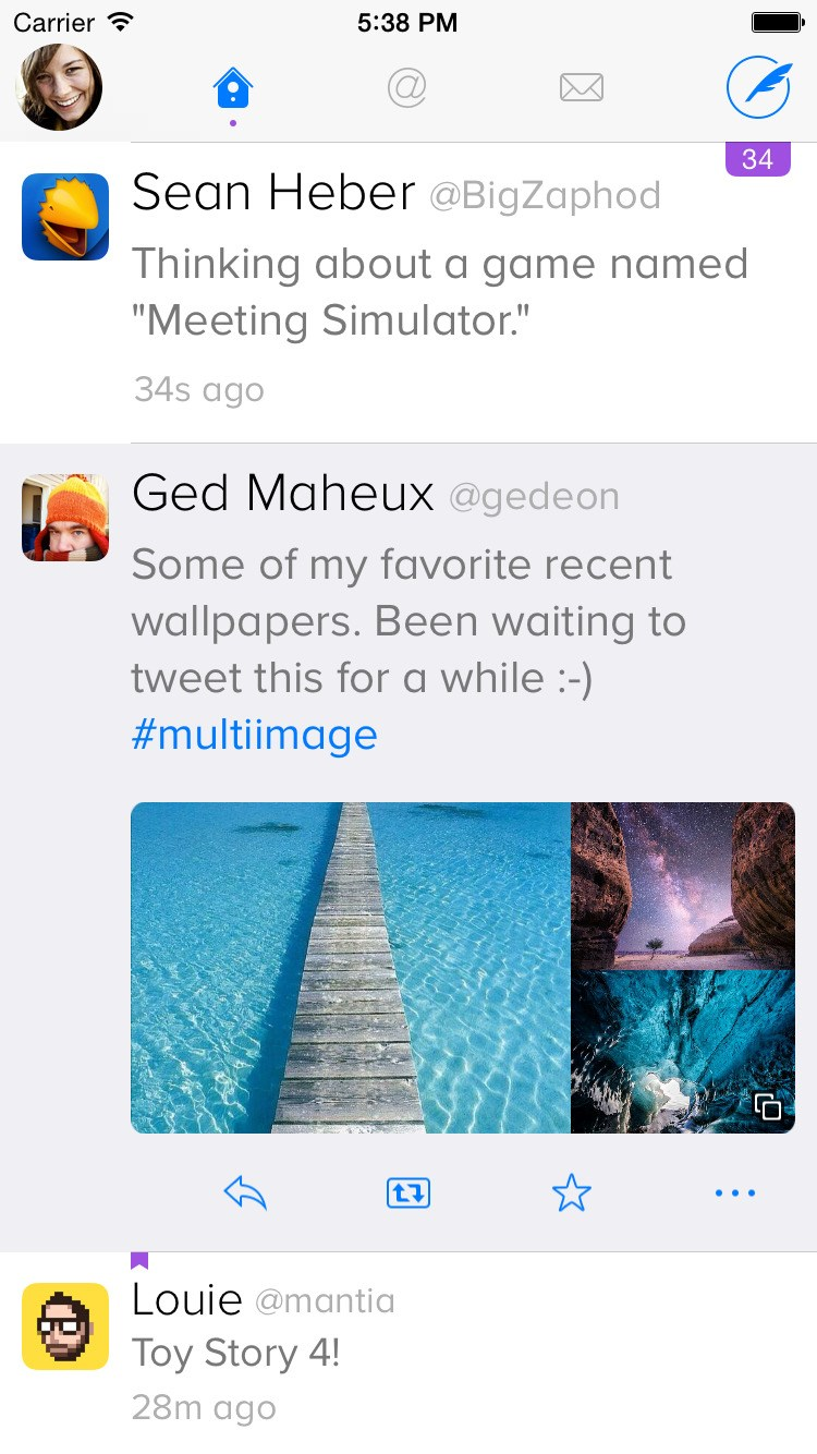 Twitterrific screenshot 0