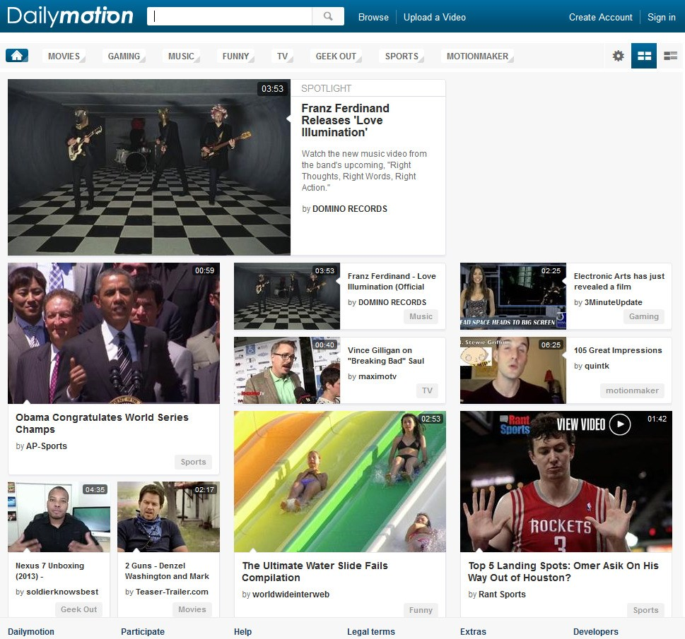 Dailymotion screenshot 0