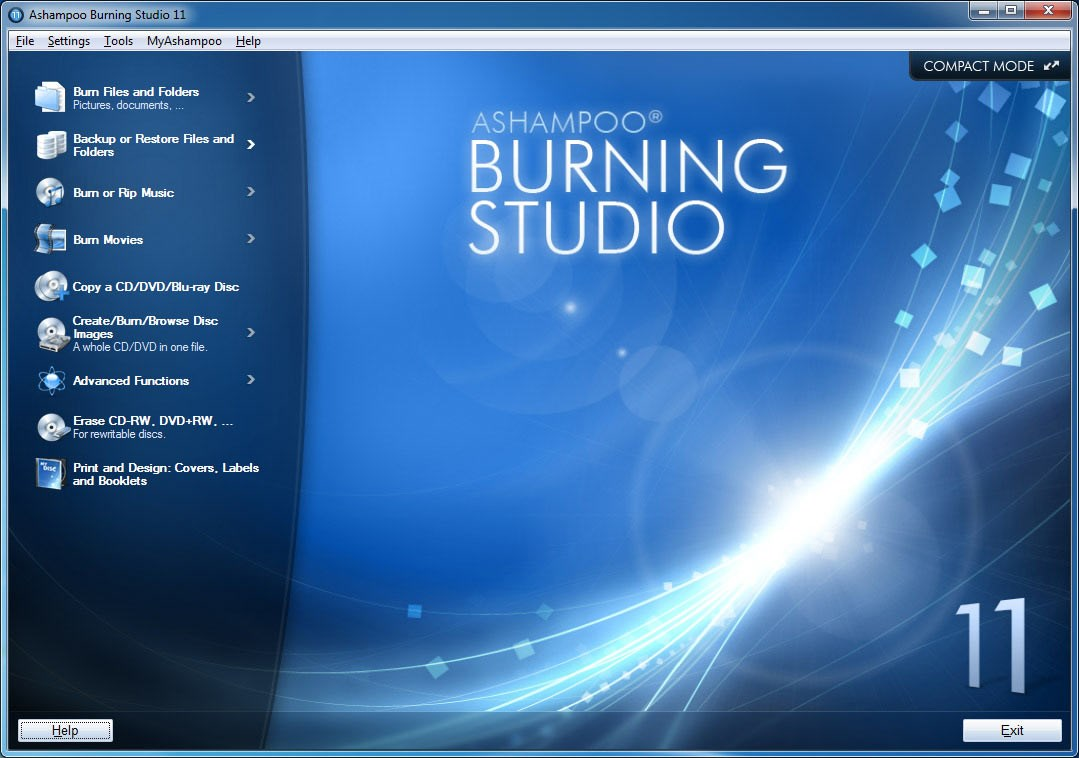 Ashampoo Burning Studio screenshot 2