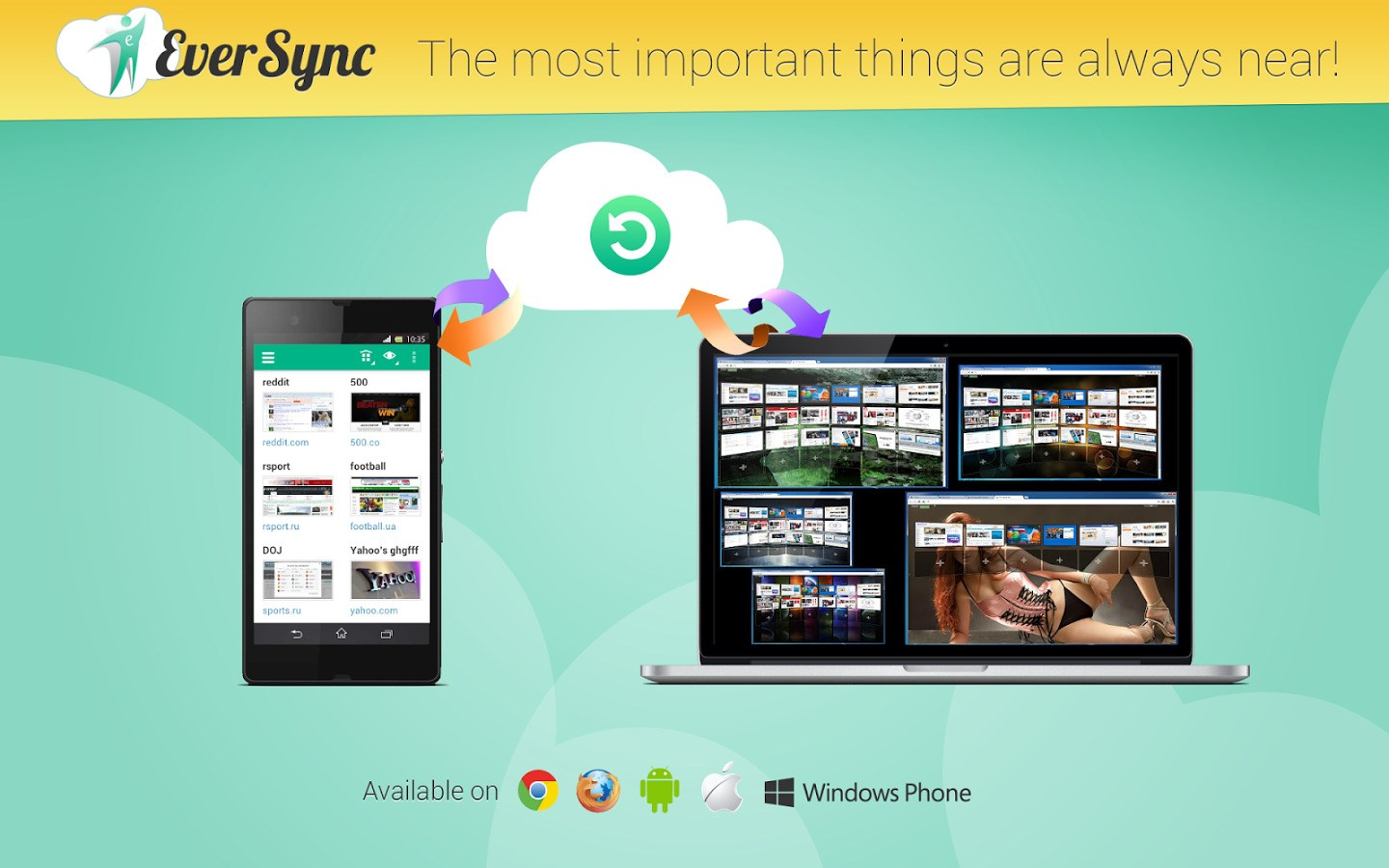 Eversync screenshot 2