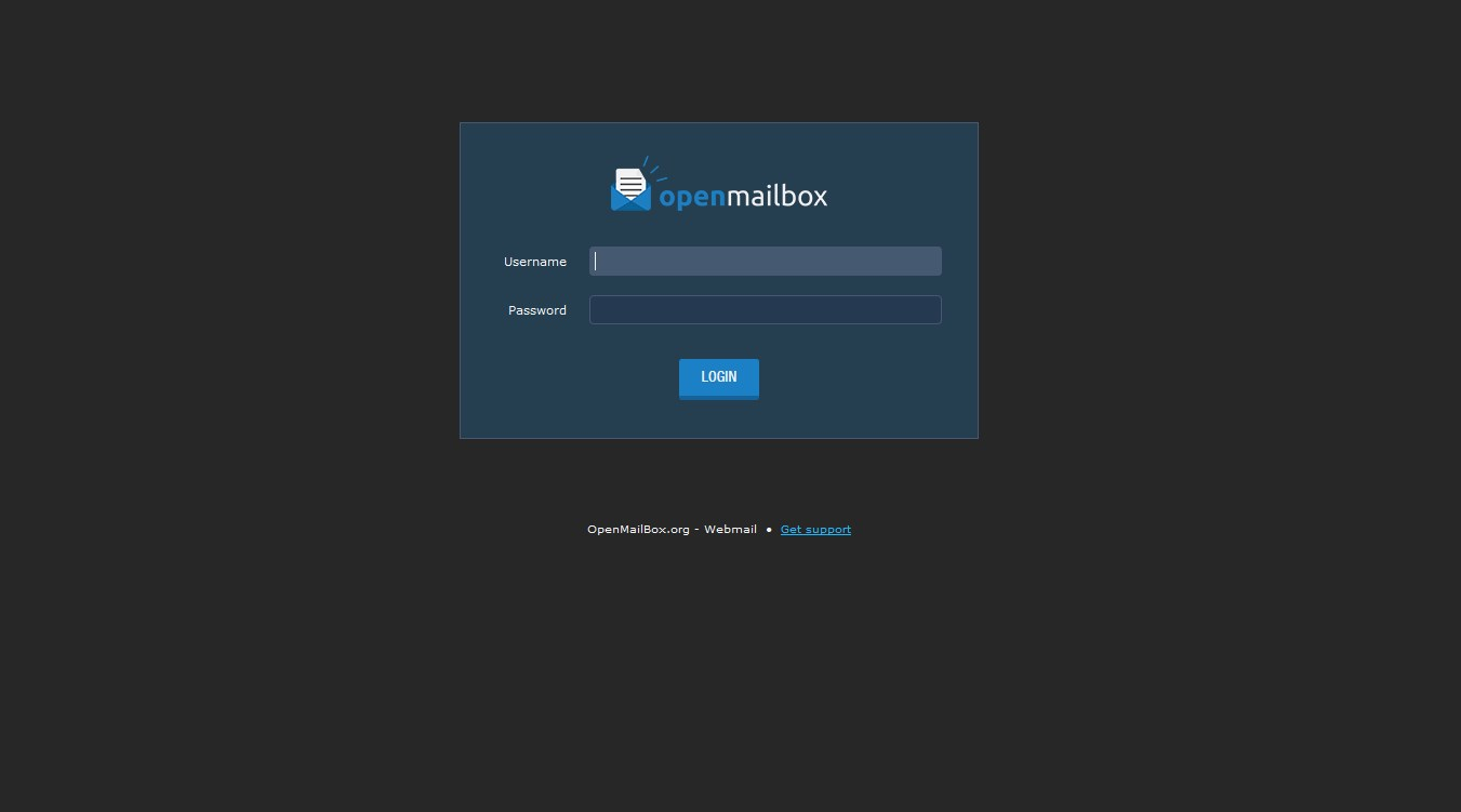 OpenMailBox screenshot 0
