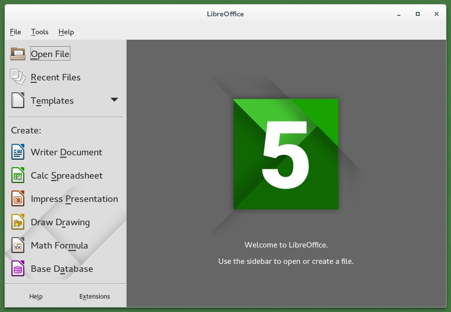 LibreOffice screenshot 0