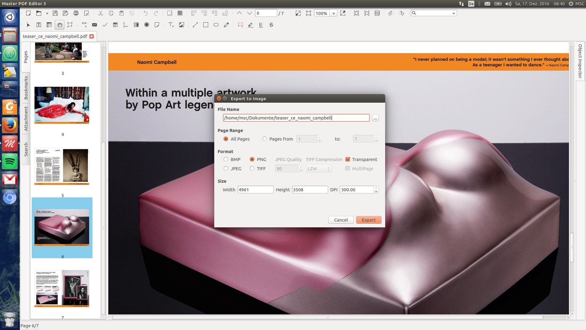 Master PDF Editor screenshot 1