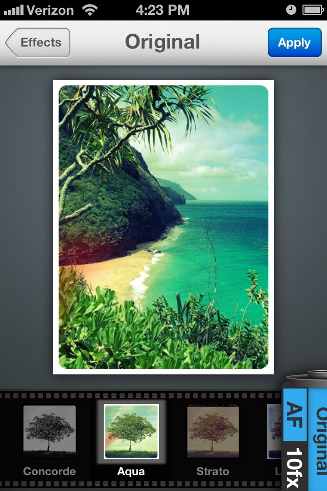 Aviary Photo Editor screenshot 1