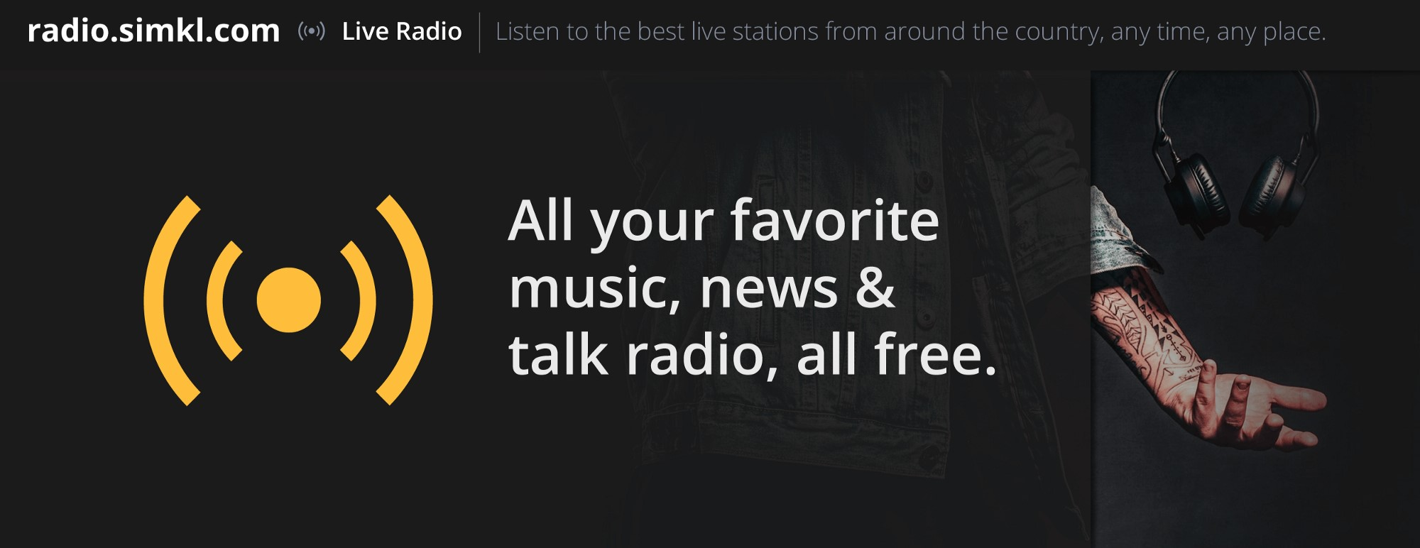 Simkl Radio screenshot 2
