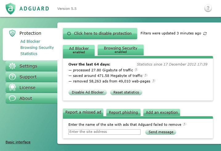 Adguard screenshot 0
