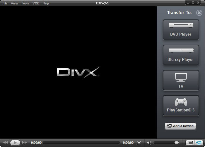 DivX screenshot 0