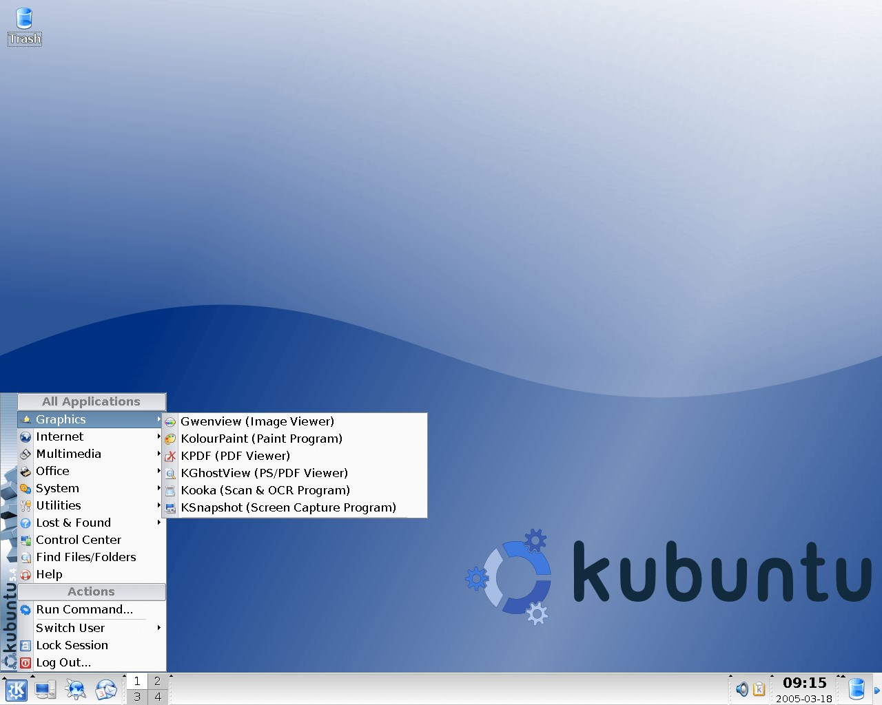 Kubuntu screenshot 1