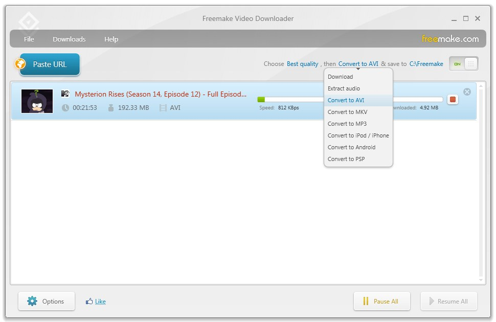 Freemake Video Downloader screenshot 2