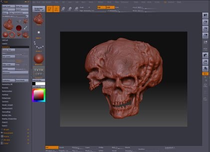 ZBrush screenshot 0