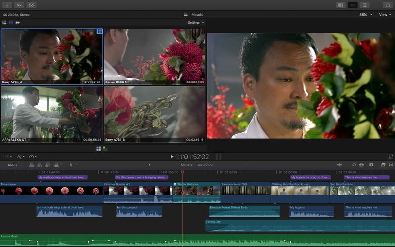 Final Cut Pro X screenshot 1