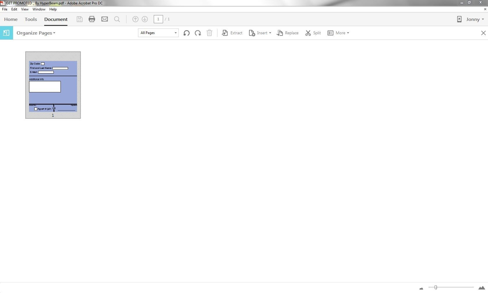 Adobe Acrobat DC screenshot 2